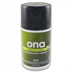 Destructeur d'odeur ONA Fresh Linen Mist 170 g
