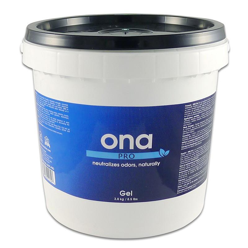 destructeur d'odeurs ONA GEL PRO SEAU DE 3.8kgs