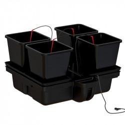 système hydroponique Platinium Big Pot XL 80 Big Pots 4 pots 18 L 80 x 80 cm ,