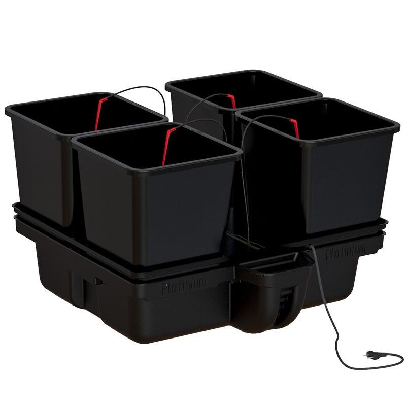 système hydroponique Platinium Big Pot XL 80 Big Pots 4 pots 25 L 80 x 80 cm