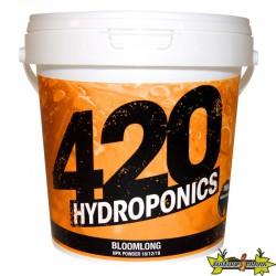 420 Hydroponics - BloomLong 250g powder , engrais floraison longue , terre,hydro,coco
