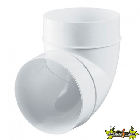 Winflex - Coude plastique 90°C Ø100mm , conduit ,gaine de ventilation