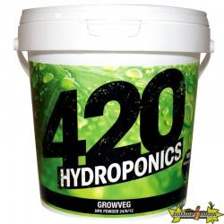 420 Hydroponics - GrowVeg 1Kg powder , engrais de croissance , terre,hydro ,coco