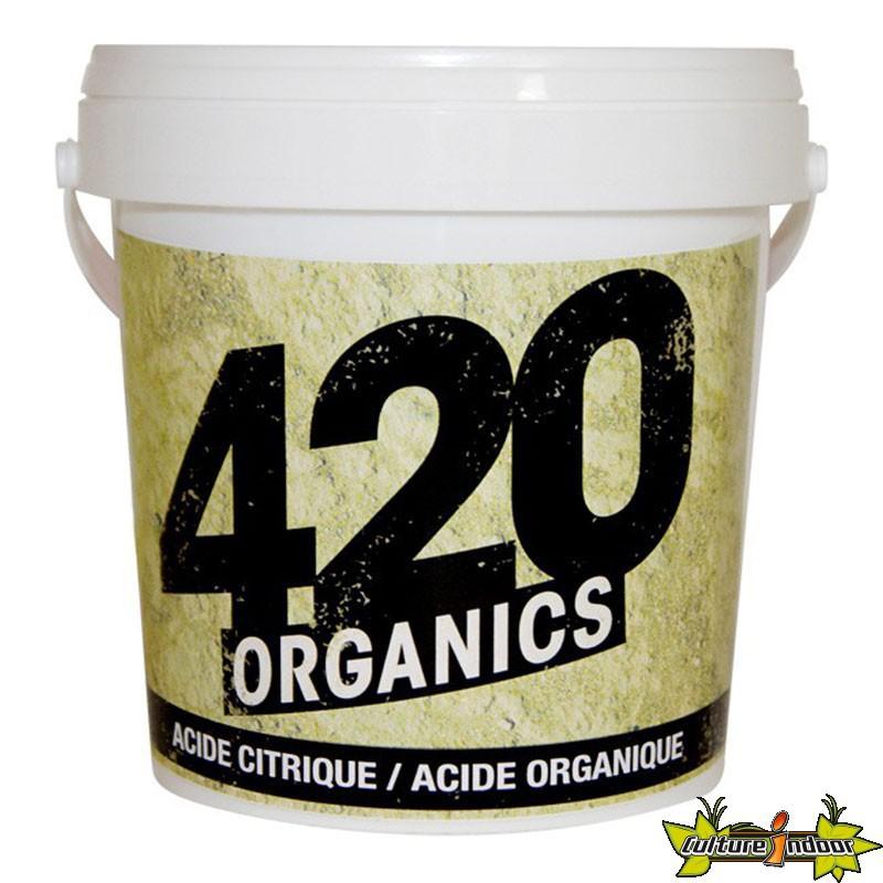 420 organics acide citrique organique 250g abaisse le ph 420 organics 10 32 culture indoor. Black Bedroom Furniture Sets. Home Design Ideas