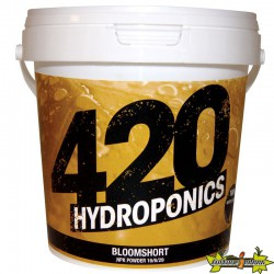 420 Hydroponics - BloomShort 250g powder , engrais floraison courte , terre , hydro , coco