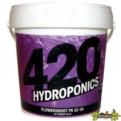 420 Hydroponics - Flowershoot PK 52-34 1Kg , booster de floraison PK