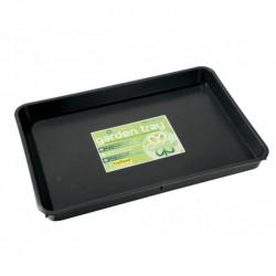 garland TABLE de récupération 56 x 40 x 4 cm , 9 litres soucoupe , table de culture