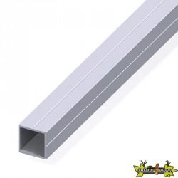 Tube carré de 1m Ø23.5mm pour M20 alu brut