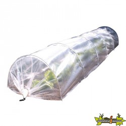 kit duo serre tunnel et et filet anti insectes 100micro 0.6x3m (film 2x10m)