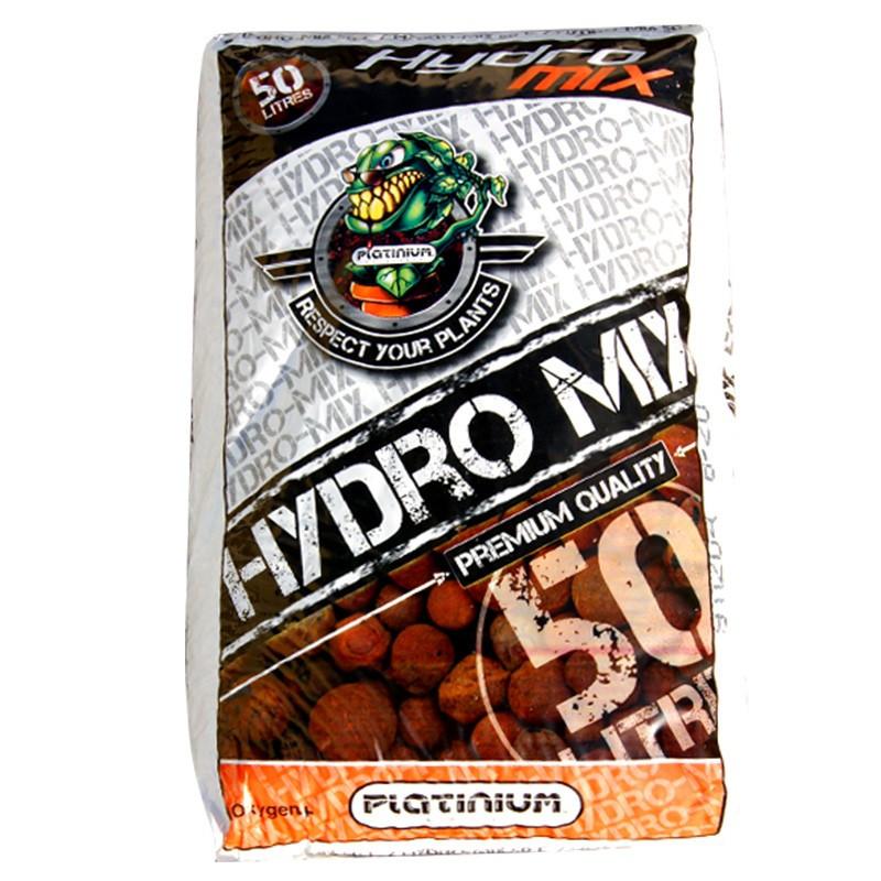 Billes d'argile HYDRO MIX 50L pH controlé Platinium, clay pebble, argile expansée, billes décoratives