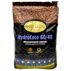 Substrat Gold Label 60/40 mix 40L, 60% coco - 40% billes d'argiles