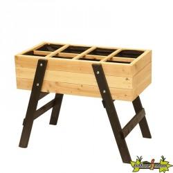 Potager en bois de pin Classe 3 sur pied Ventoux - 100x55x78cm