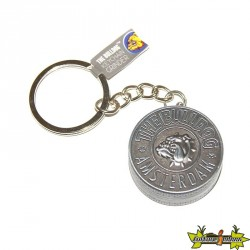 MOULIN THE BULLDOG EN PORTE CLEFS + CHAINETTE 30MM 2 PARTIES