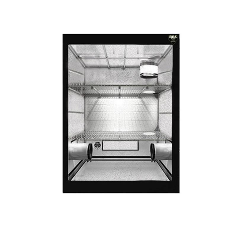 Blackbox Silver - Chambre de culture BBS Modular 2/3 étages divisibles - 90x60x210 cm