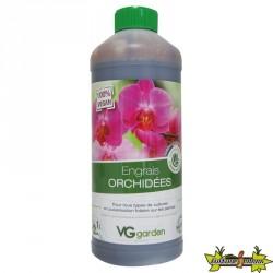 Engrais orchidées biologique/Vegan 1L-VG GARDEN