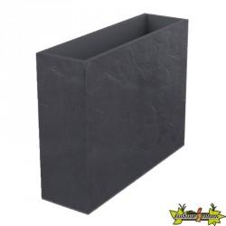 EDA Plastiques - Jardinière haute Loft XL - Volcania - Gris anthracite- 63L