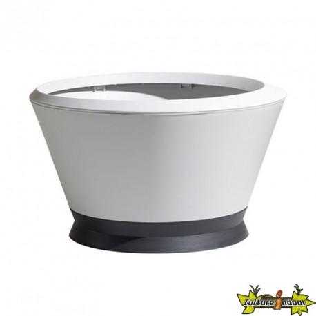 Pot vasque IKÔNE IK2 Ø76x44.8cm 105L Blanc Céruse/Gris Anthracite - EDA Plastiques