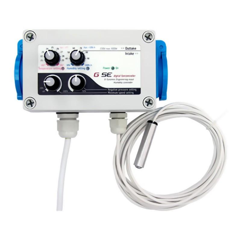 GSE Fan Contrôleur et Humidité , pour extracteur d'air
