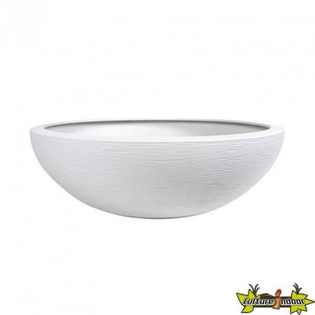POT VASQUE GRAPHIT 60CM Blanc céruse 60x21cm 39L- eda plastiques