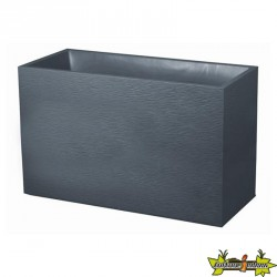 MURET GRAPHIT GRIS ANT. 99.5X39.5X60CM 116L-eda plastiques