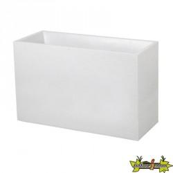 EDA Plastiques - Jardinière Loft XL - Graphit - Blanc cérusé - 116L