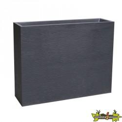 EDA Plastiques - Jardinière Loft XL - Graphit - Gris anthracite - 63L