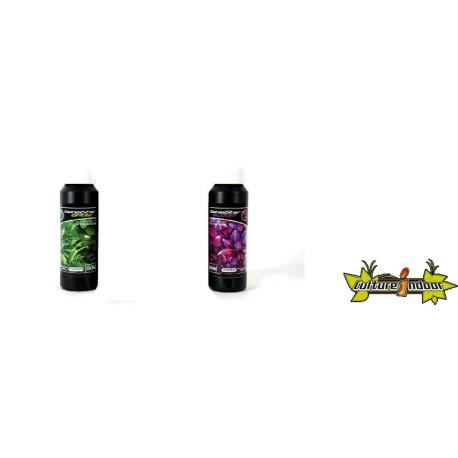 Pack Sensistar 250ml - Engrais GEL Croissance et Floraison Terre, Hydro, Coco - Platinium Nutrients
