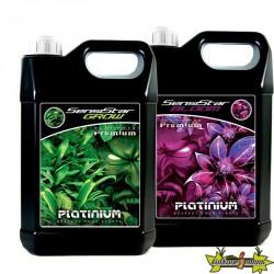 Pack Sensistar 5L - Engrais GEL Croissance et Floraison Terre, Hydro, Coco - Platinium Nutrients