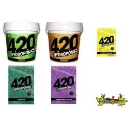 PACK 420 HYDROPONICS - HYDRO-TERRE-COCO - FLORAISON COURTE