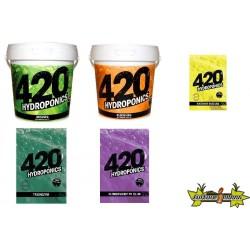 PACK 420 HYDROPONICS - HYDRO-TERRE-COCO - FLORAISON LONGUE