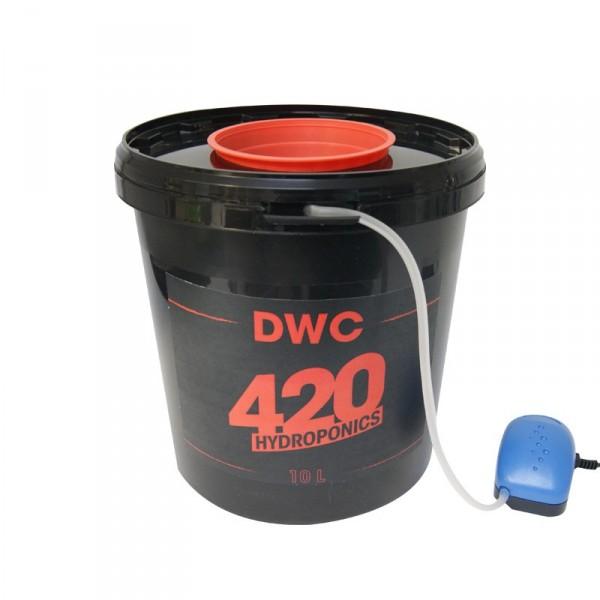 420 HYDROPONICS - DWC 10 L , systeme de culture hydroponique , aéroponique