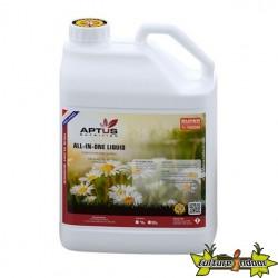 Engrais APTUS - ALL IN ONE LIQUID 5L - engrais liquide croissance et floraison