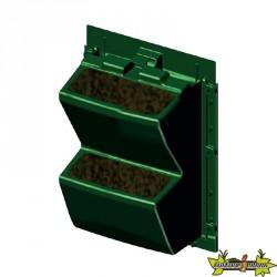 MODULOGREEN - MUR VEGETAL VERTICAL - 30X43CM - SANS SUBSTRAT