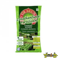 Amedement Organique - AUTHENTIQUE FERTILISANT 5KGS - OR BRUN