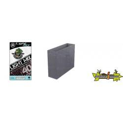 Pack - Loft XL Volcania 63L Gris Galet + Substrat Platinium LightMIX