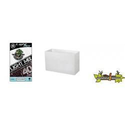 Pack - Muret Graphit Blanc ceruse 116L + Substrat Platinium LightMIX