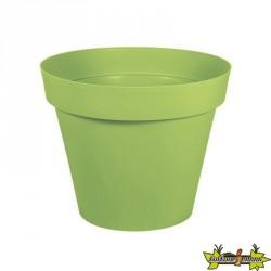 EDA Plastiques - Pot rond Toscane 48x40cm 43L Vert Matcha