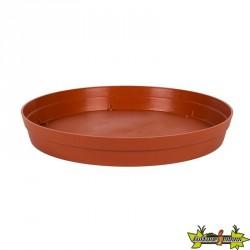 Soucoupe Toscane Ø34.5cm (Pot 43L - Vase 50L/67L) Potiron - EDA Plastiques