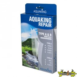 KIT DE REPARATION BACHE BASSIN AQUAKING (RUSTINE)