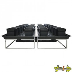 TABLE A MAREE FLOWTABLE PRO CARRE 15 + 32 POTS 25L SYSTEME COMPLET