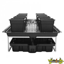 TABLE A MAREE FLOWTABLE PRO 3M2+ 8 POTS 25l SYSTEME COMPLET