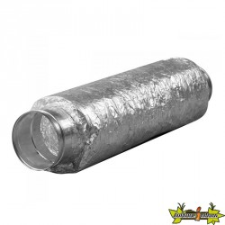 Silencieux 125x500mm Flange Métal souple