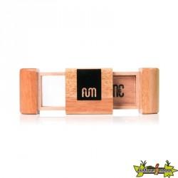 Fum Box mini en bois de couleur naturelle
