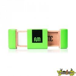 Fum Box mini en bois de couleur verte