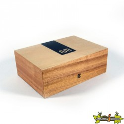 Fum Box large en bois de couleur naturelle