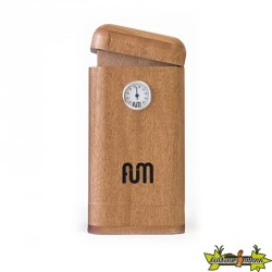 Fum Box vertical en bois de couleur naturelle