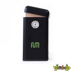 Fum Box vertical en bois de couleur noir