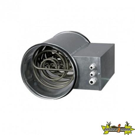 Chauffage éléctrique rond pour gaine NK100 0,6-12 KW