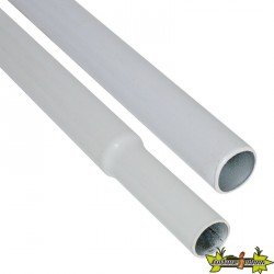 Barre N°3 Male/femelle 80cm Diam:15mm - BlackBox Silver