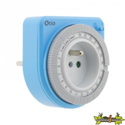 Programmateur compact mécanique Bleu Otio